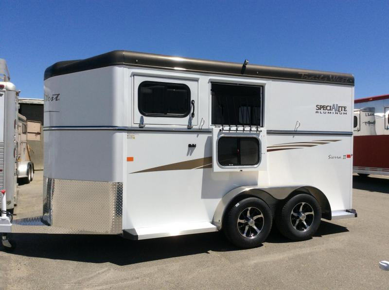 2017 Trails West Manufacturing Sierra 2 Horse Trailer