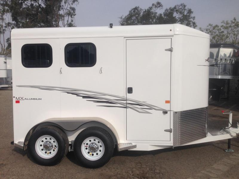 2018 Trails West 2 Horse Bp Trailer