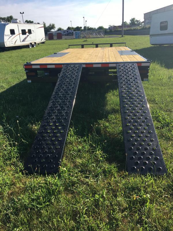 2017 Sure-Trac 8.5x16 10K Deckover Flatbed Trailer