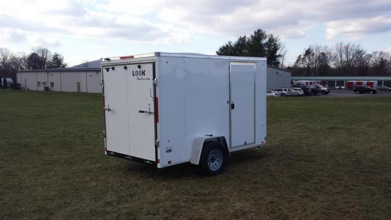 2017 Look Trailers 6x10 DLX-ST Enclosed Cargo Trailer