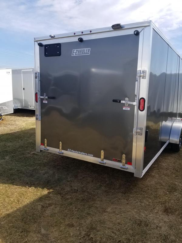 2018 Mission EZES 7x24+4 Enclosed Snowmobile Trailer