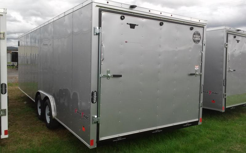 2018 Wells Cargo Fast Trac 8.5x24 10K Car/Racing Trailer