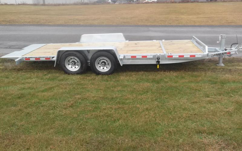 2018 Load Rite 16+4 14K Tilt Deck Equipment Trailer
