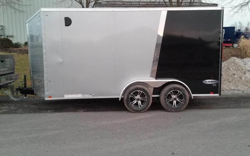 2018 Look Trailers 7x14 Element SE Enclosed Cargo Trailer