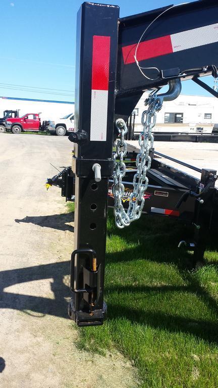 2016 Holmes 8x20 Deckover Gooseneck Equipment Trailer