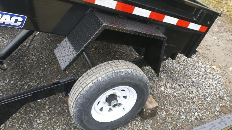 2018 Sure-Trac 5x8 Low Profile Dump Trailer
