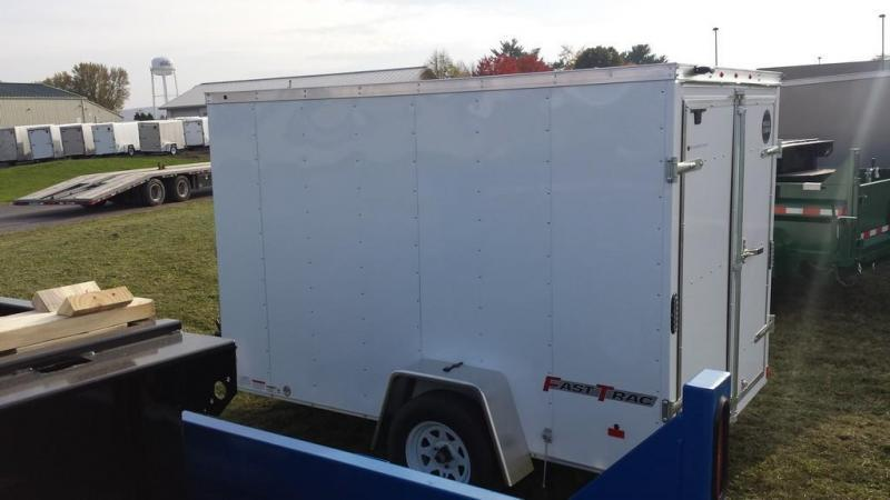 2017 Wells Cargo 6x10 Fast Trac Enclosed Cargo Trailer