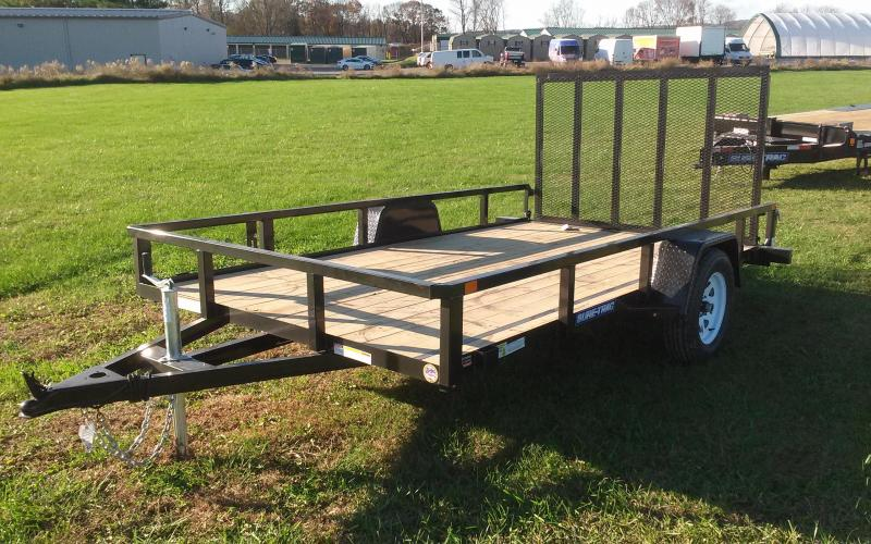 2018 Sure-Trac 7X12 Tube Top Utility Trailer