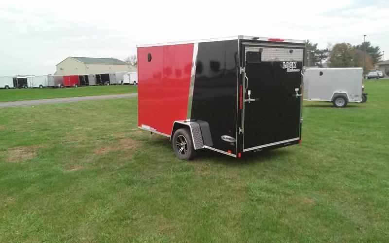 2018 Look Trailers 6x12 Element SE Enclosed Cargo Trailer