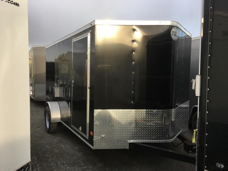 2017 Wells Cargo 7x12 Fast Trac 3.5k Enclosed Cargo Trailer