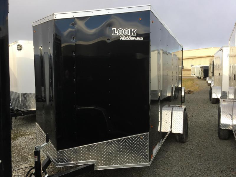 2018 Look Trailers 6x12 ST DLX Enclosed Cargo Trailer