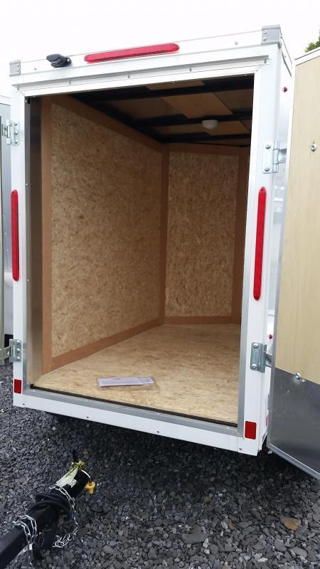 2018 Look Trailers Element 4x6 Enclosed Cargo Trailer