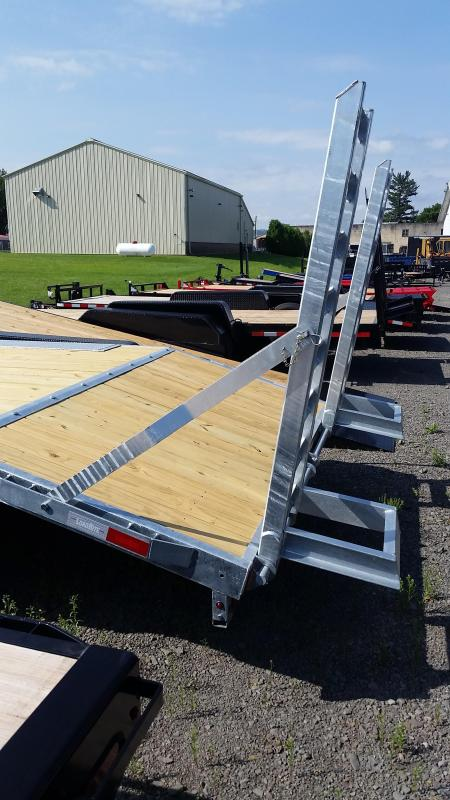 2018 Load Rite 16 ft + 4 ft Deckover 14K Flatbed Trailer