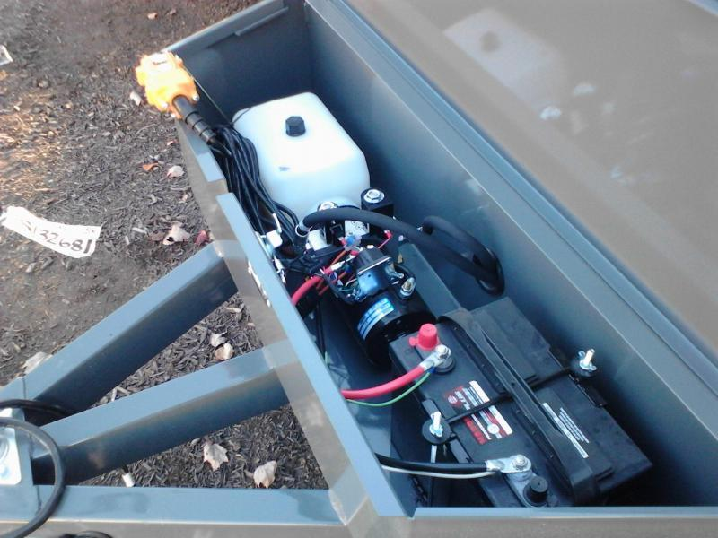 2018 Sure-Trac 5x8 5K Low Profile Dump Trailer