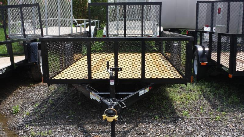 2018 Holmes 6-4x12 Commercial Mesh Side Utility Trailer