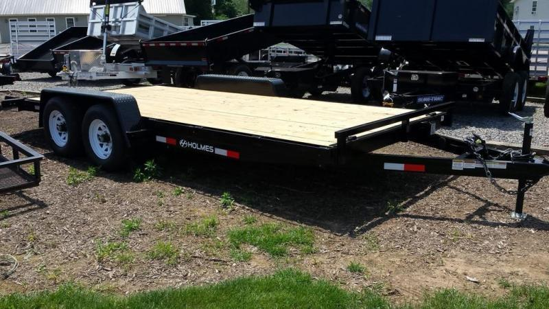 2018 Holmes 6-10x18 wood deck