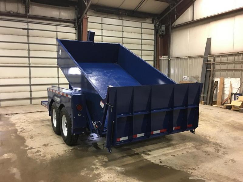 2017 Air Tow 6x11 Drop-Deck Dump Trailer