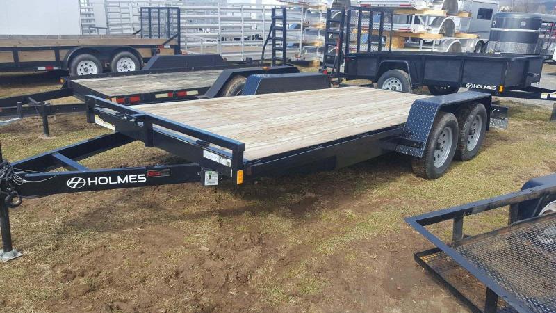 2017 Holmes 6-10x16 Wood Deck Car / Racing Trailer