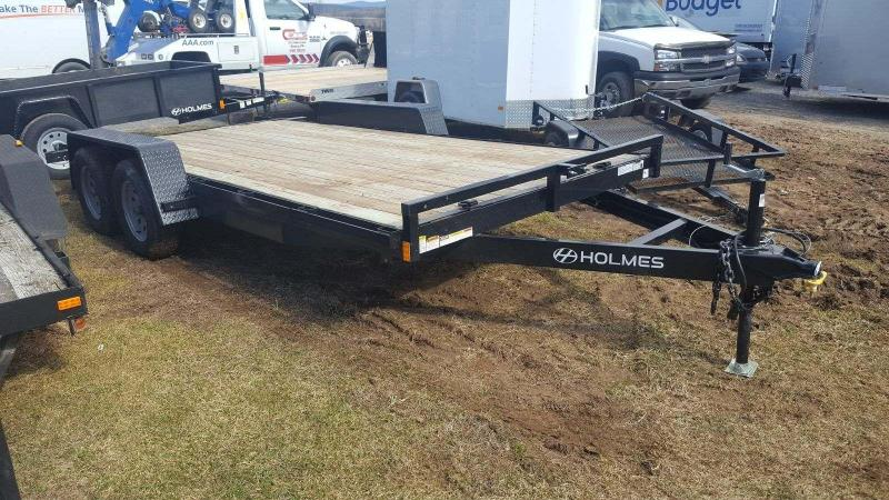 2017 Holmes 6-10x16 Wood Deck Car / Racing Trailer