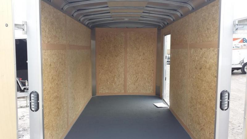 2017 Wells Cargo 6x10 Road Force Enclosed Cargo Trailer