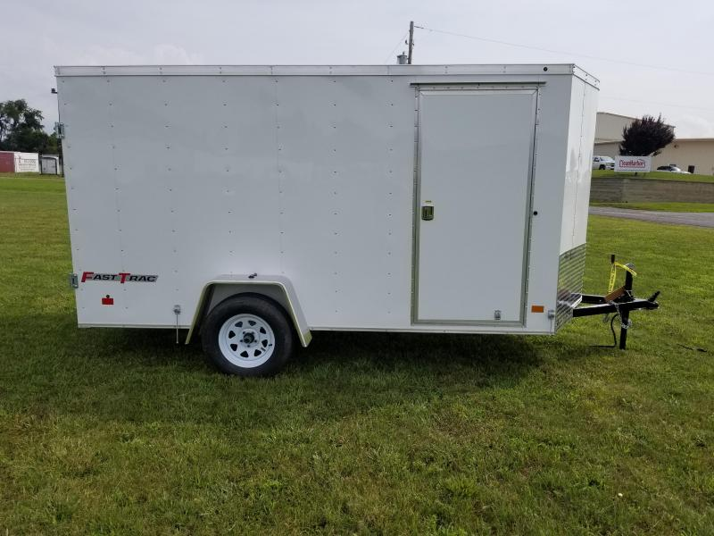 2018 Wells Cargo Fast Trac 6x12 Enclosed Cargo Trailer
