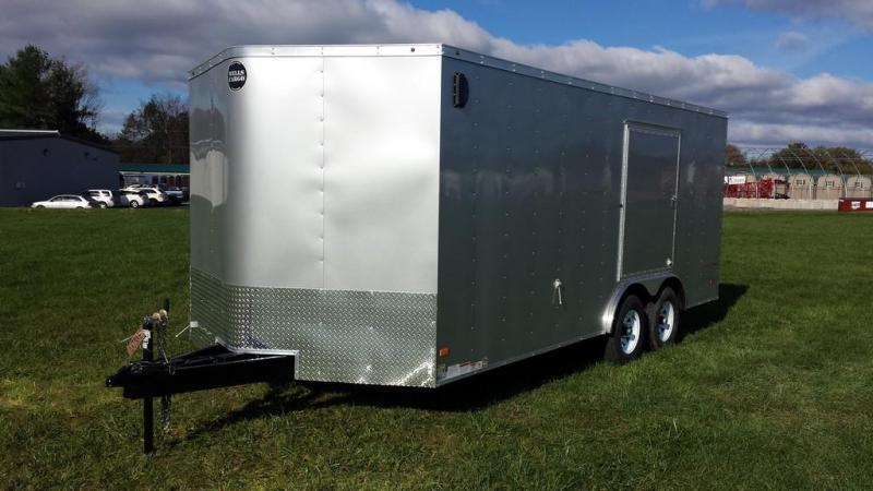 2017 Wells Cargo 8x18 Fast Trac Enclosed Cargo Trailer