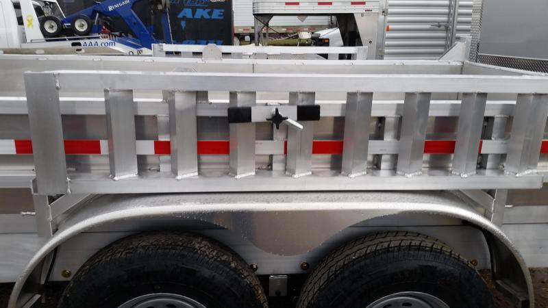 2017 Mission MODP 7x14 Aluminum 12K Dump Trailer