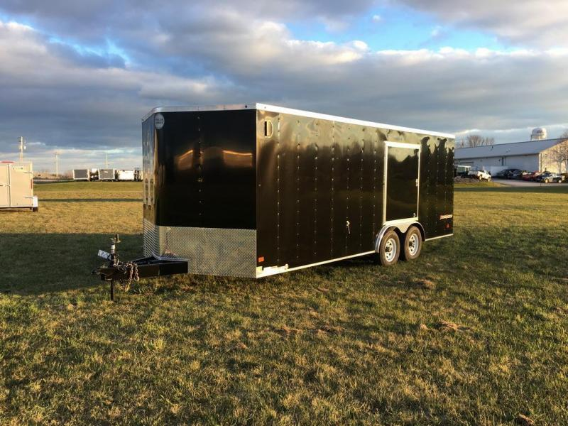 2017 Wells Cargo 8.5x20 Fast Trac Enclosed Cargo Trailer