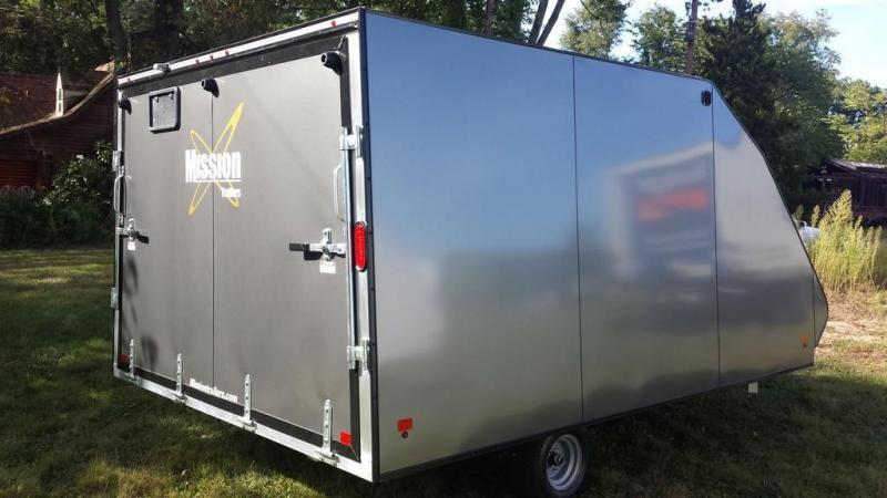 Crossover Snowmobile Trailers Mission Trailers Autos Post