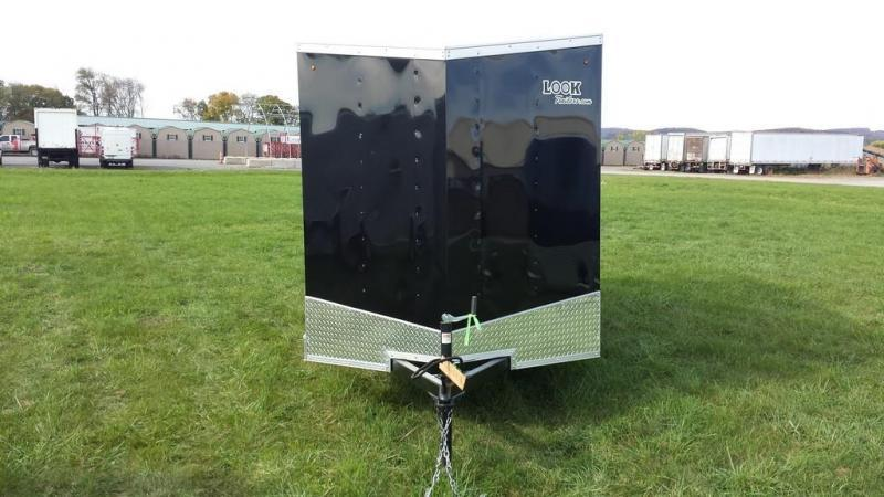 2017 Look Trailers 6x12 DLX-ST Enclosed Cargo Trailer