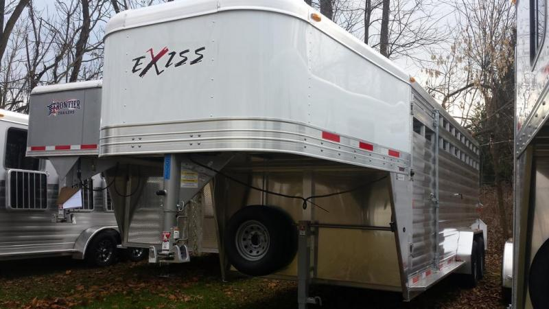 Year end blowout! - Save $6000 - 2016 Exiss STK 7020 GN Stock Trailer