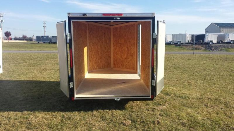 2017 Look Trailers 6X10 DLX ST Enclosed Cargo Trailer