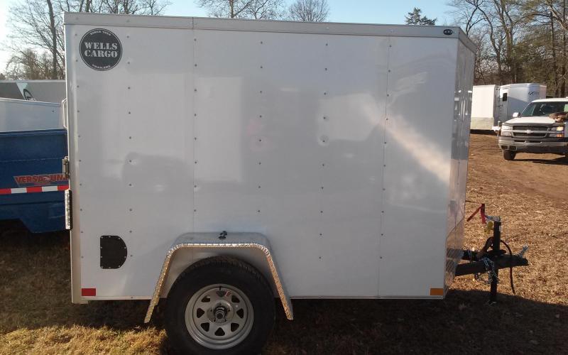 2018 Wells Cargo 300 Series 5x8 Enclosed Cargo Trailer