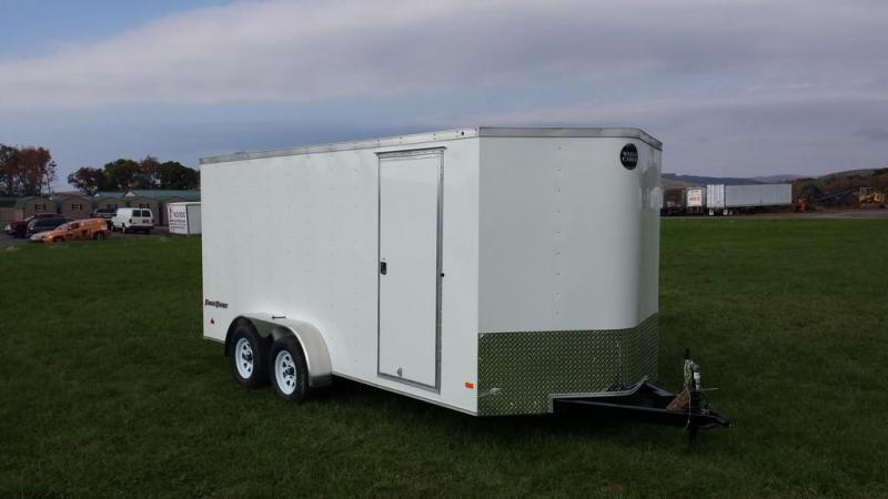 2017 Wells Cargo 7x16 Fast Trac Enclosed Cargo Trailer