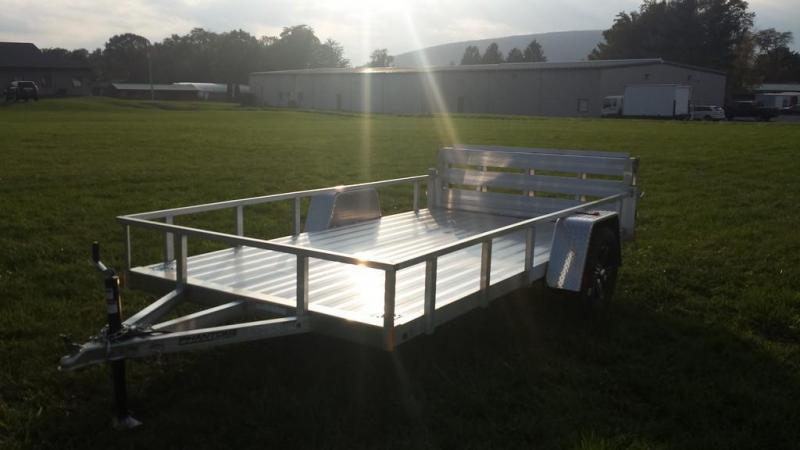 2018 Stealth 6-5x12 Alum Open Deck Rail Utility Trailer