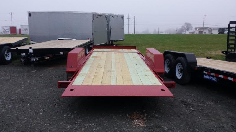 2018 Midsota 7x22 tilt deck Equipment Trailer