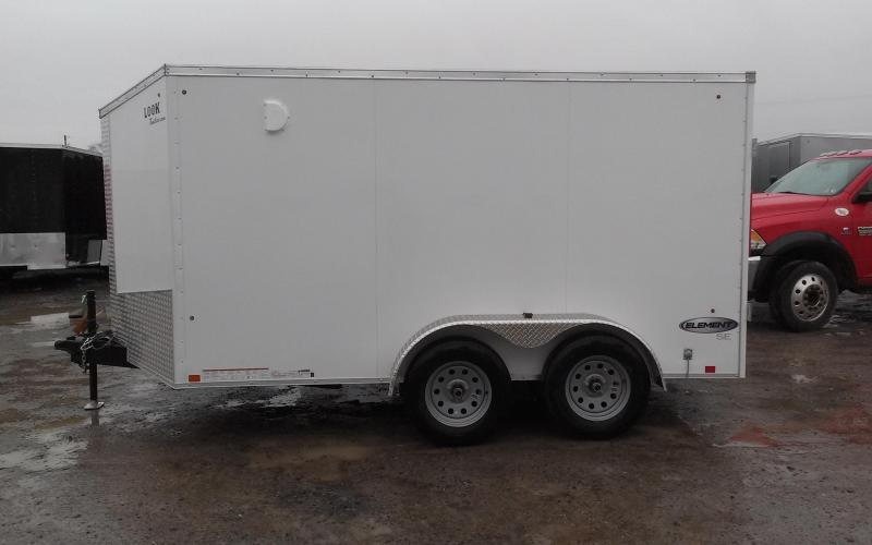2018 Look Trailers 7x12 7K Element SE Enclosed Cargo Trailer