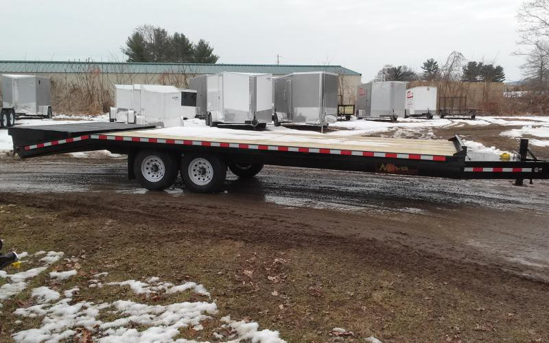 2018 Midsota 8-5x19+5 Nova Wood Deckover 10 Flatbed Trailer