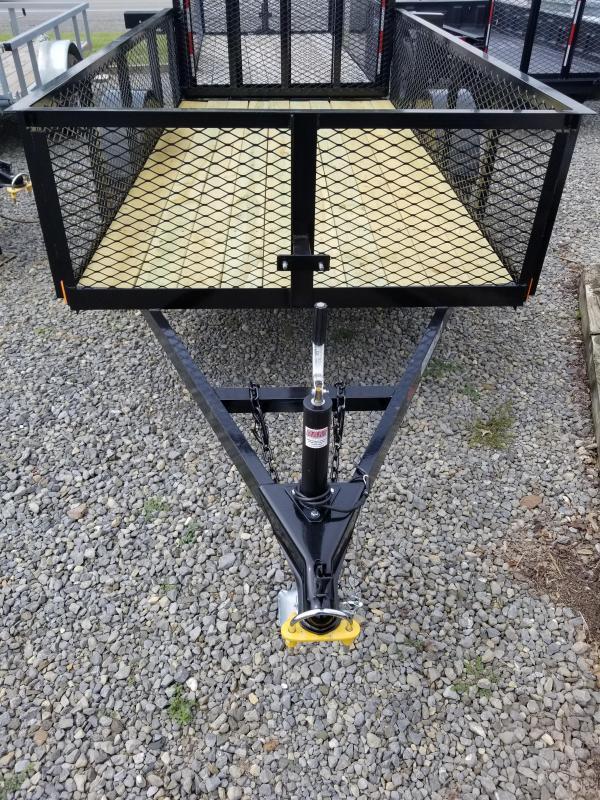 2018 Holmes 5x10 Mesh Side Utility Trailer