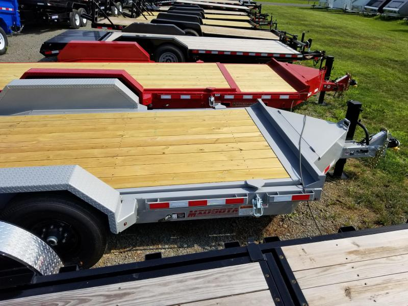 2018 Midsota 7x18 tilt deck Equipment Trailer