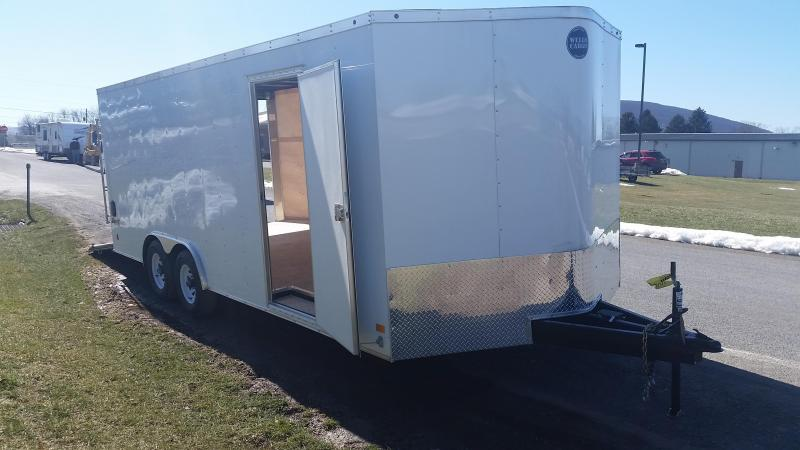2017 Wells Cargo Fast Trac 8.5x20 10K Car / Racing Trailer