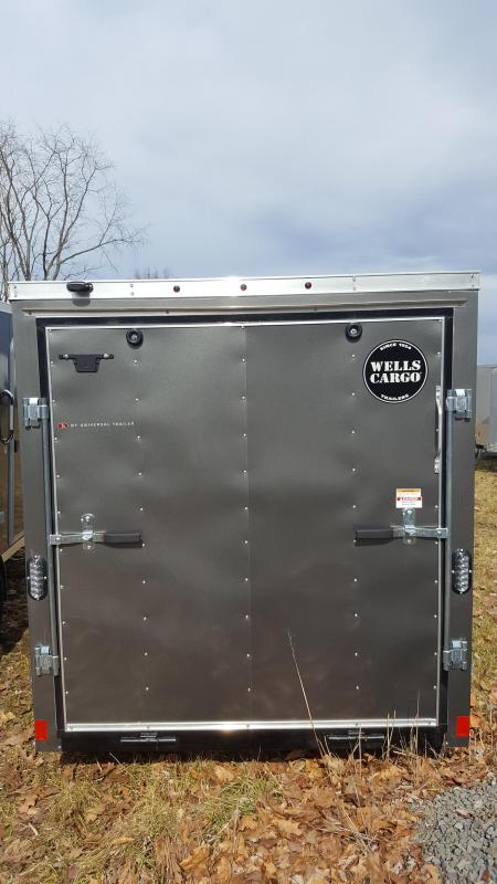2018 Wells Cargo 6x10 Fast Trac Enclosed Cargo Trailer