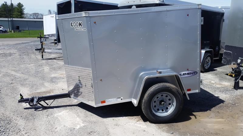 2018 Look Trailers Element 4x6 Enclosed Cargo Trailer