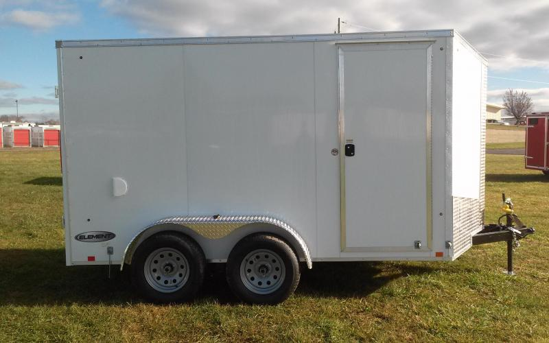 2018 Look Trailers 6x12 7K Element SE Enclosed Cargo Trailer