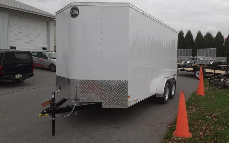 2018_Wells_Cargo_7x16_Fast_Trac_Enclosed_Cargo_Trailer_C0pe0e new trailers new and used trailers and vehicle rentals of muncy pa  at creativeand.co