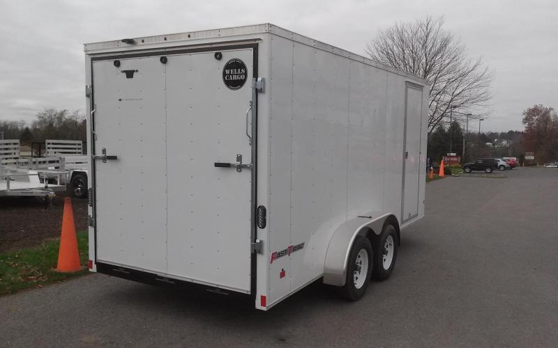2018 Wells Cargo 7x16 Fast Trac Enclosed Cargo Trailer