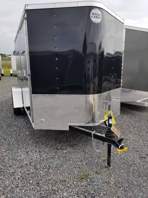 2018 Wells Cargo 6x12 Fast Trac Enclosed Cargo Trailer