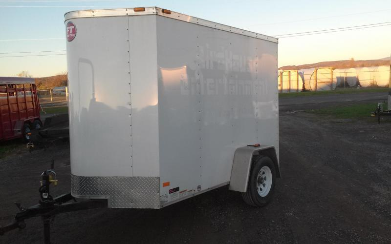 2013 Wells Cargo Fast Tac 5x8 Enclosed Cargo Trailer