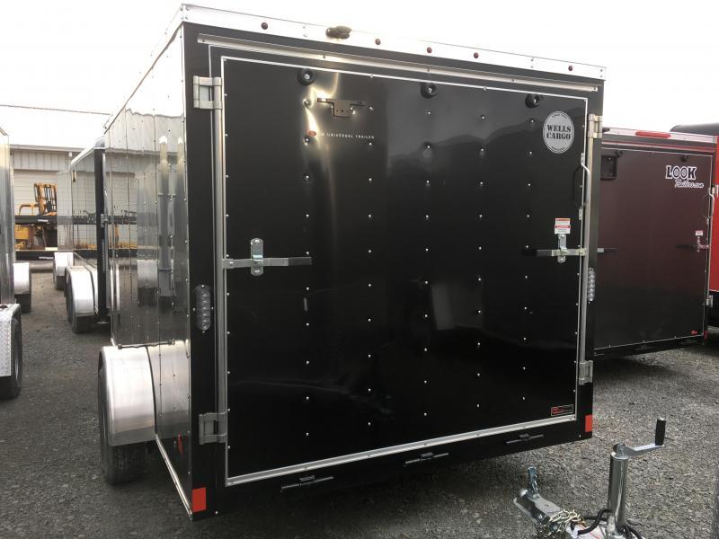 2017 Wells Cargo 7x12 Fast Trac 3.5k Enclosed Cargo Trailer