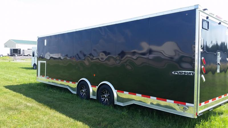 2018 Pace American Pursuit 8.5x28 Car / Racing Trailer